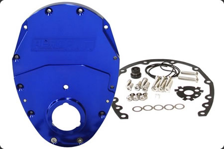 2 Piece Billet Timing Cover