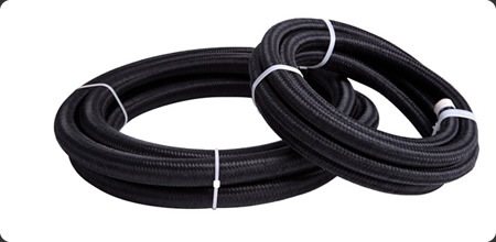 450 Series Black Braided Light Weight Hose