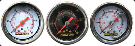 "1-1/2"" Liquid Filled Pressure Gauges"