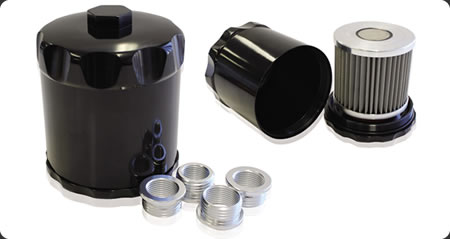 Universal Billet Re-Usable oil Filters