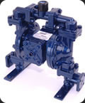 Lincoln Double Diaphragm Pump